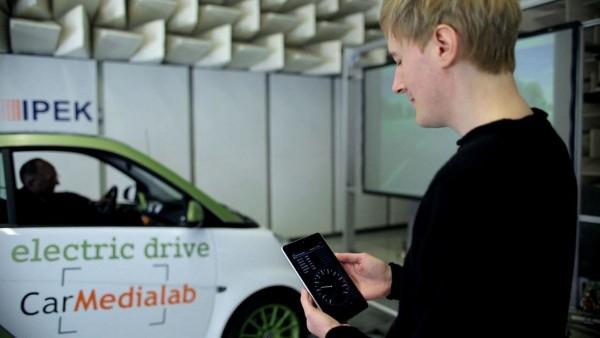 Das Elektroniksystem ELISE stellt Fahrzeugdaten in Echtzeit und kabellos zur Verfügung