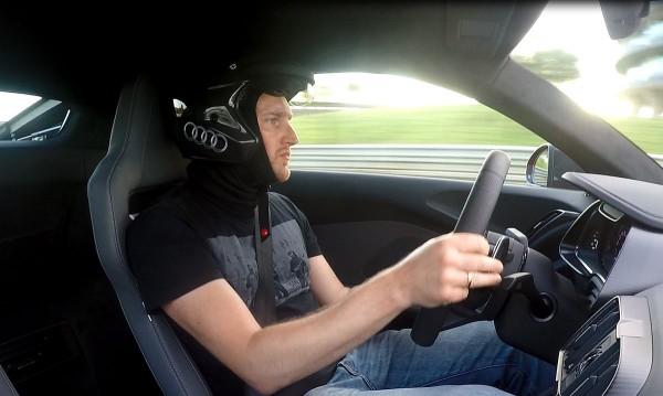 Moritz Nolte im Audi R8 V10 plus