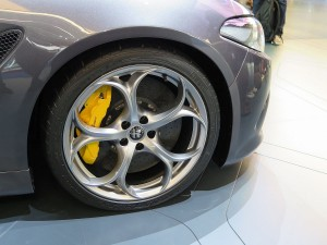 Alfa Giulia Bremse und Felgen