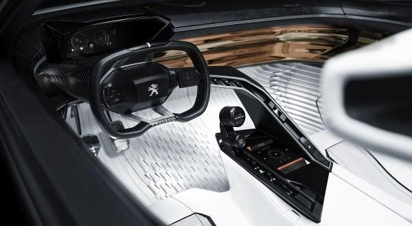 Peugeot Fractal Cockpit