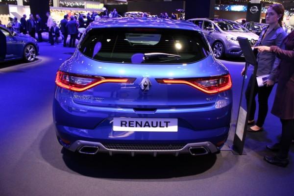 Renault Mégane GT 02 hinten