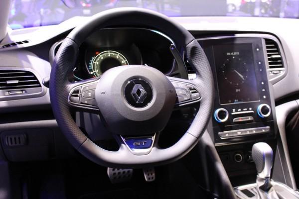 Renault Mégane GT 05 Cockpit