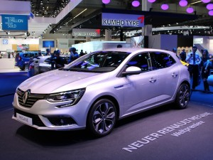 Renault Mégane 01 vorne