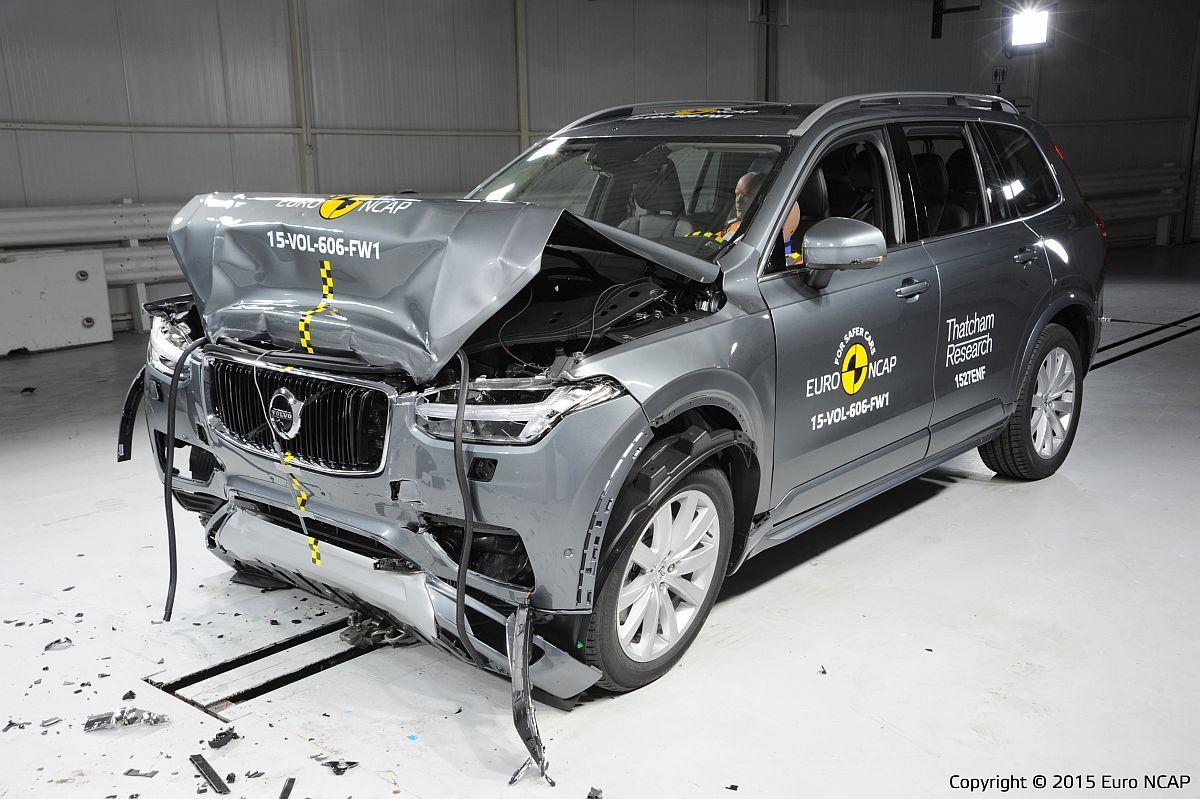 Euro-NCAP-Crashtest – Volvo XC90