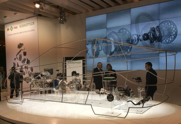 Schaeffler Glass Car IAA 2015