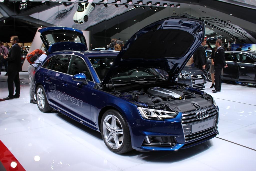 Audi Gibt Gas Erdgas A4 Als G Tron Kommt Ende 2016