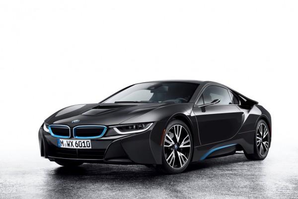 Schnelles Elektroauto: Der BMW i8.