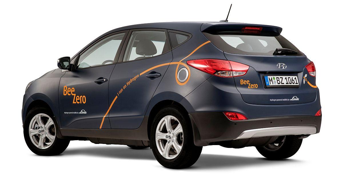 Hyundai ix35 Fuel Cell-Linde-BeeZero