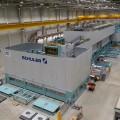 Im Presswerk Kuppenheim ist eine der weltweit modernsten Karosseriepressen in Betrieb gegangen