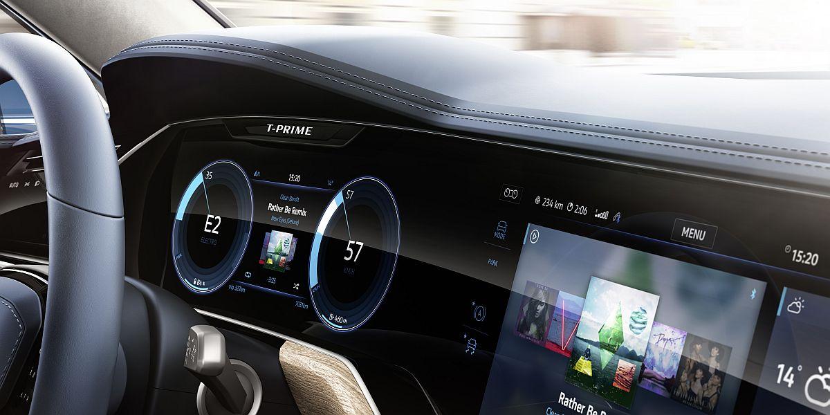 VW T-Prime Concept GTE-3