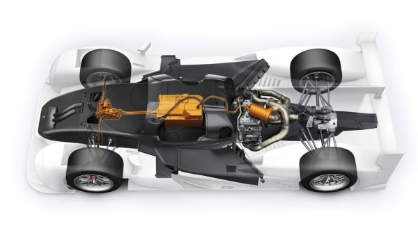Die Technik des Porsche 919 Hybrid-3-Antriebsstrang