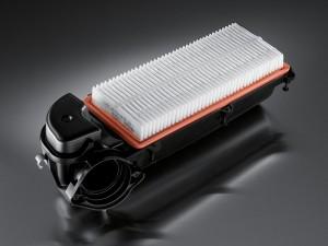 Kurzfaserverstärkte Polymerbauteile wie dieser Luftfilter lassen sich mit der neuen reduzierten integrativen Simulation schon in der Vorauslegung einfach und effizient berechnen.