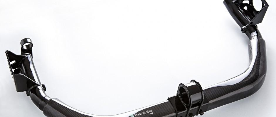 Fraunhofer LBF entwickelt hybride Leichtbauhinterachse. Bild: Fraunhofer LBF, U. Raapke