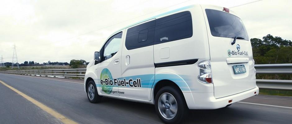Nissan e-NV200e-Bio-Fuel Cell-1