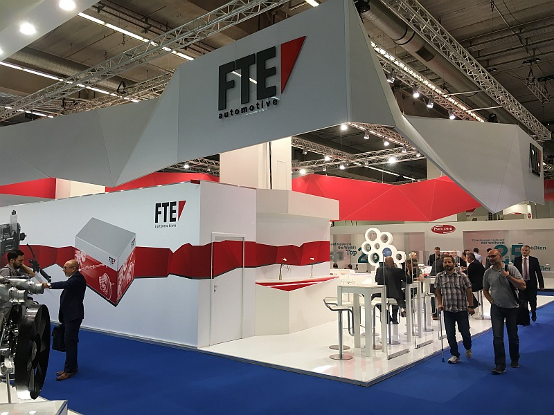 FTE Automotive auf der Automechanika 2016