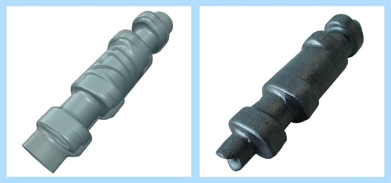 Neues Querwalz-Verfahren für nicht-runde Bauteile