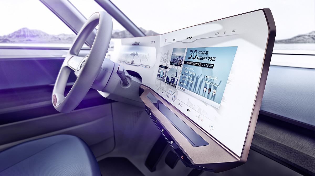 Interieur des VW BUDD-e Showcars