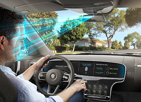 Continental bringt Biometrie ins Fahrzeug