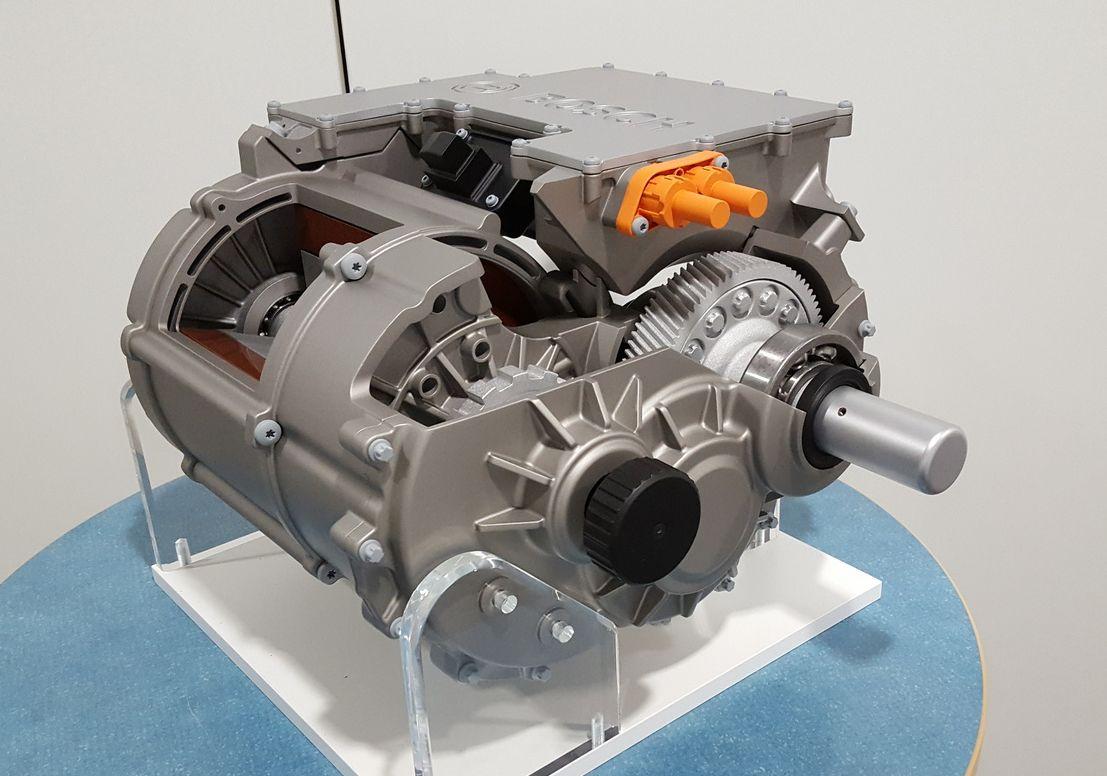 """Das elektrische Achsantriebssystem """"eAxle"""" von Bosch"""