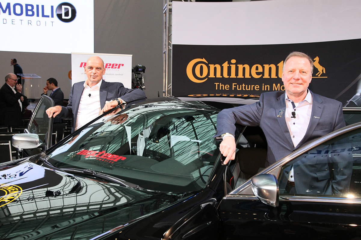 Continental-Nexteer-Joint-Venture
