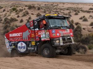 Dakar-Sieg 2017 mit 16-Gang-Schaltgetriebe von ZF. Bild: Richard Kienberger