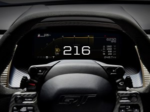Ford GT Digitales Zehn-Zoll-Instrumenten-Display