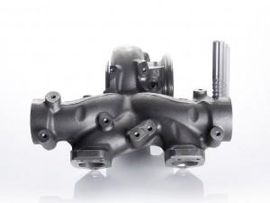 Hochwarmfeste Werkstoffe für Abgas-Turbolader oder -Krümmer (Foto) sind höchst anspruchsvoll zu zerspanen