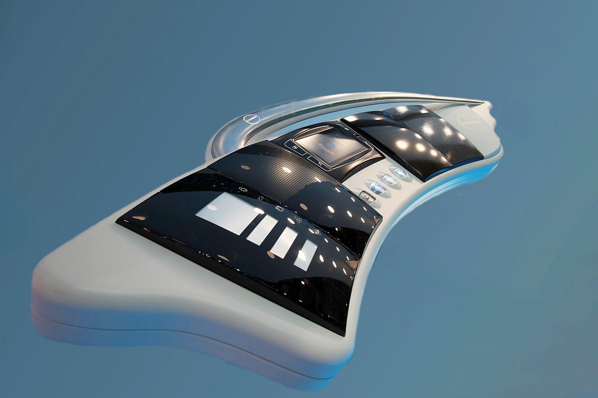Neue Folien ermöglichen Lichteffekte und Funktionen im Fahrzeug-Interieur