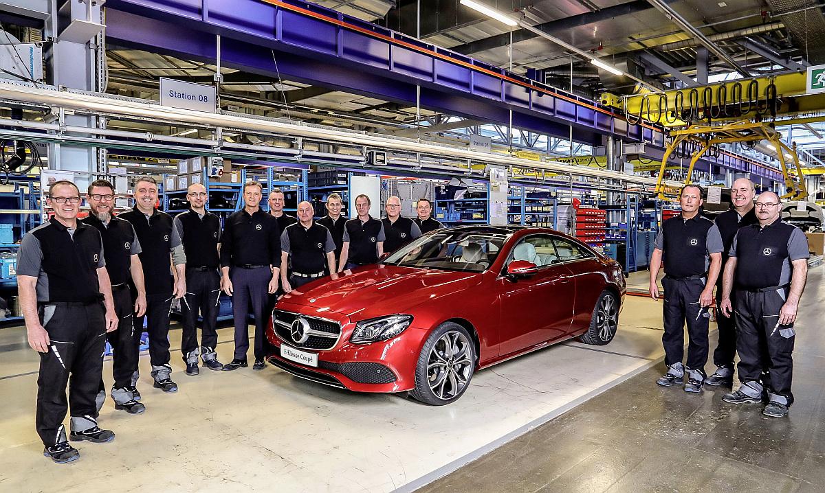 Produktion-Mercedes-E-Klasse-Coupe-Werk-Bremen-1