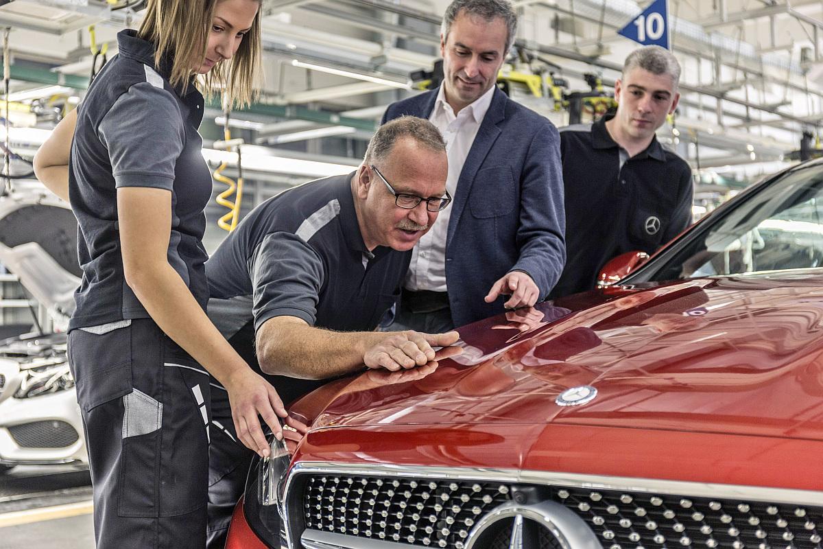Produktion-Mercedes-E-Klasse-Coupe-Werk-Bremen-2