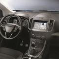 Sprachgesteuertes Konnektivitätssystem Sync 3 im Ford Edge.