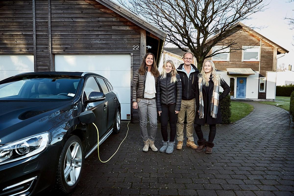 Volvo-Familie-Hain