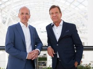Jan Carlson, Chairman, CEO und Präsident von Autoliv, und Håkan Samuelsson, Präsident und CEO von Volvo Cars