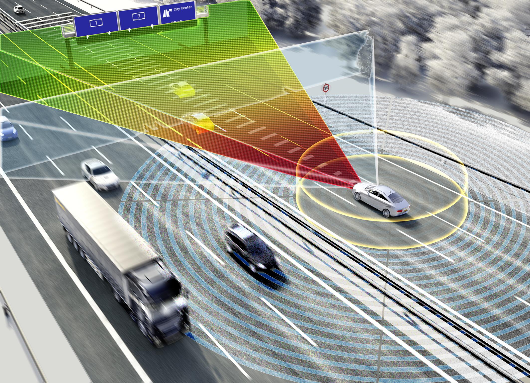 Das neue Umfeldmodell von Continental für das automatisierte Fahren