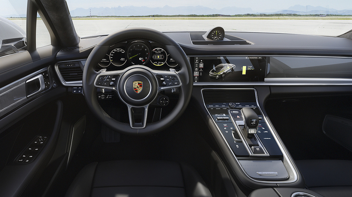Porsche Panamera Turbo S E-Hybrid Interieur - Automotive-Technology