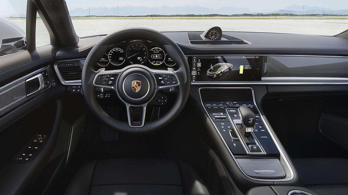 Porsche Panamera Turbo S E-Hybrid Interieur