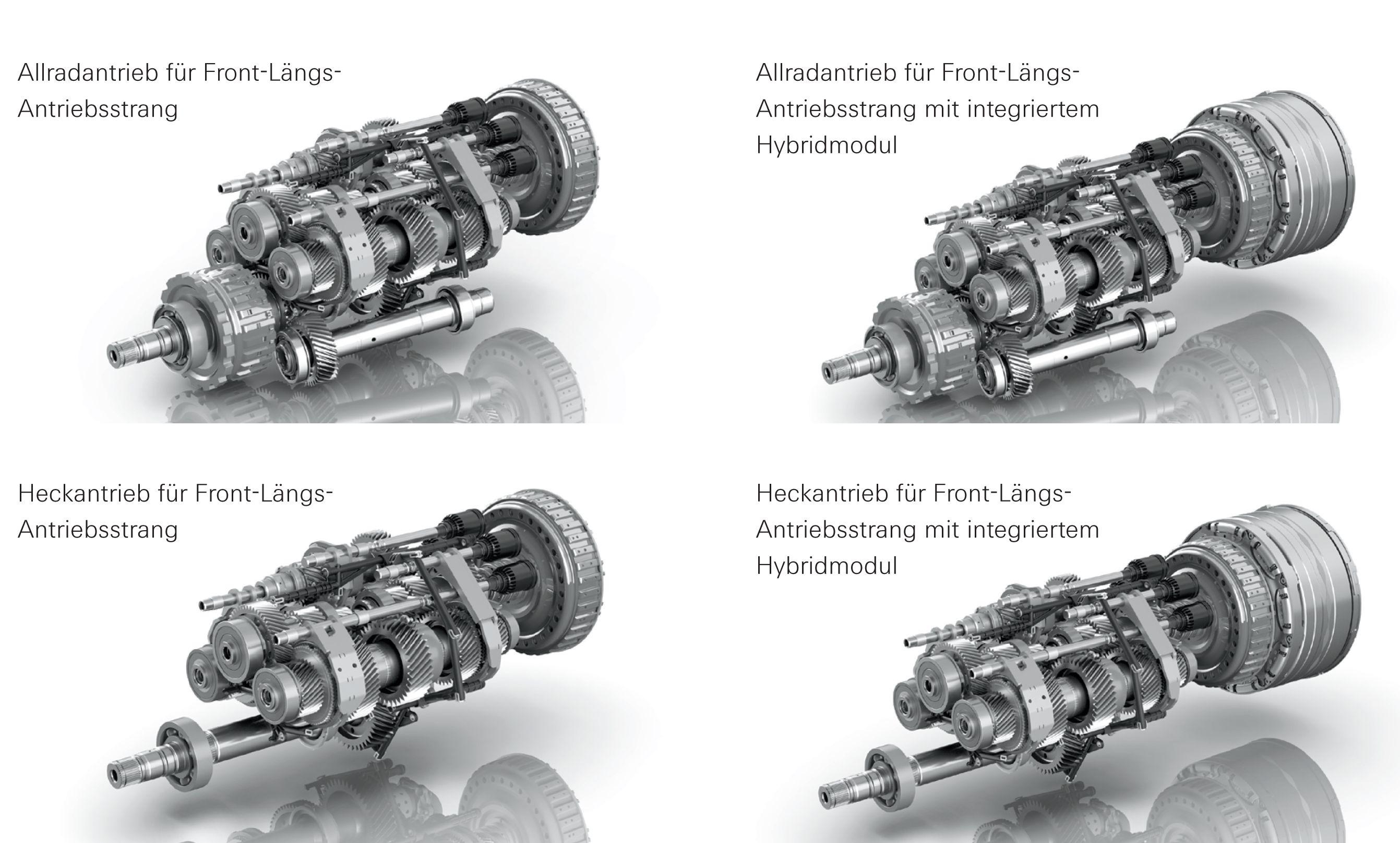 ZF 8DT Getriebe-Baukasten