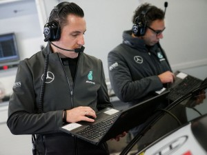 Mercedes-AMG Motorsport DTM Team, Tobias Pfeiffer, Systemingenieur ;  Mercedes-AMG Motorsport DTM Team, Tobias Pfeiffer, Systems Engineer;