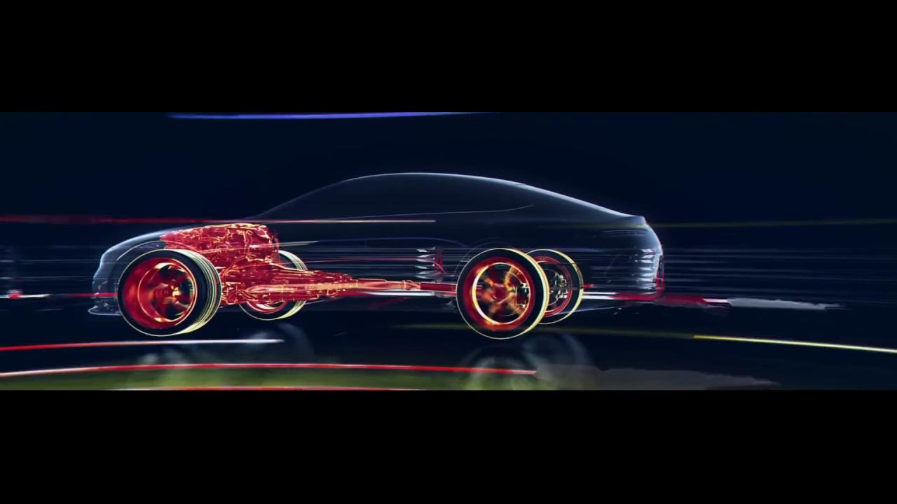 Der Hybrid-Antriebsstrang im Mercedes-AMG GT Concept