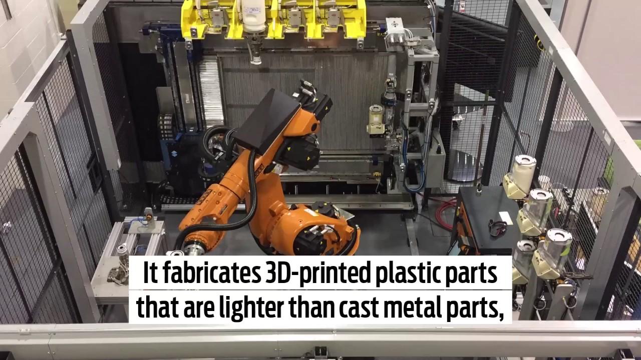 Ford testet 3D-Druck im großen Maßstab