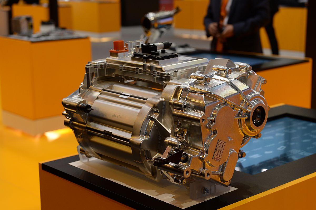 Der neue elektrische Achsantrieb: 75 Kilogramm leicht, 150 Kilowatt Leistung, 400 Newtonmeter Drehmoment. Bild: Continental