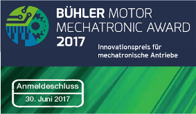 5.000 Euro Preisgeld: Der Bühler Motor Mechatronic Award 2017