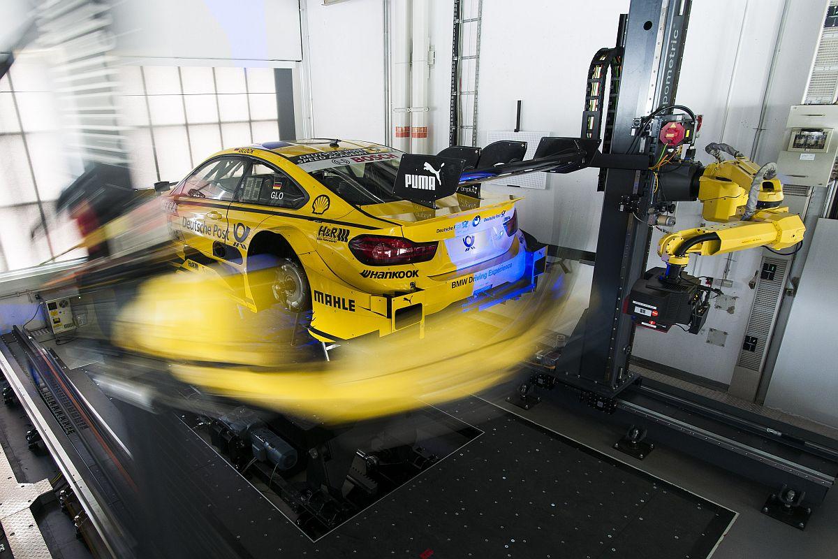 State-of-the-Art-Qualitätskontrolle 3D-Messtechnik beim BMW M4 DTM 2