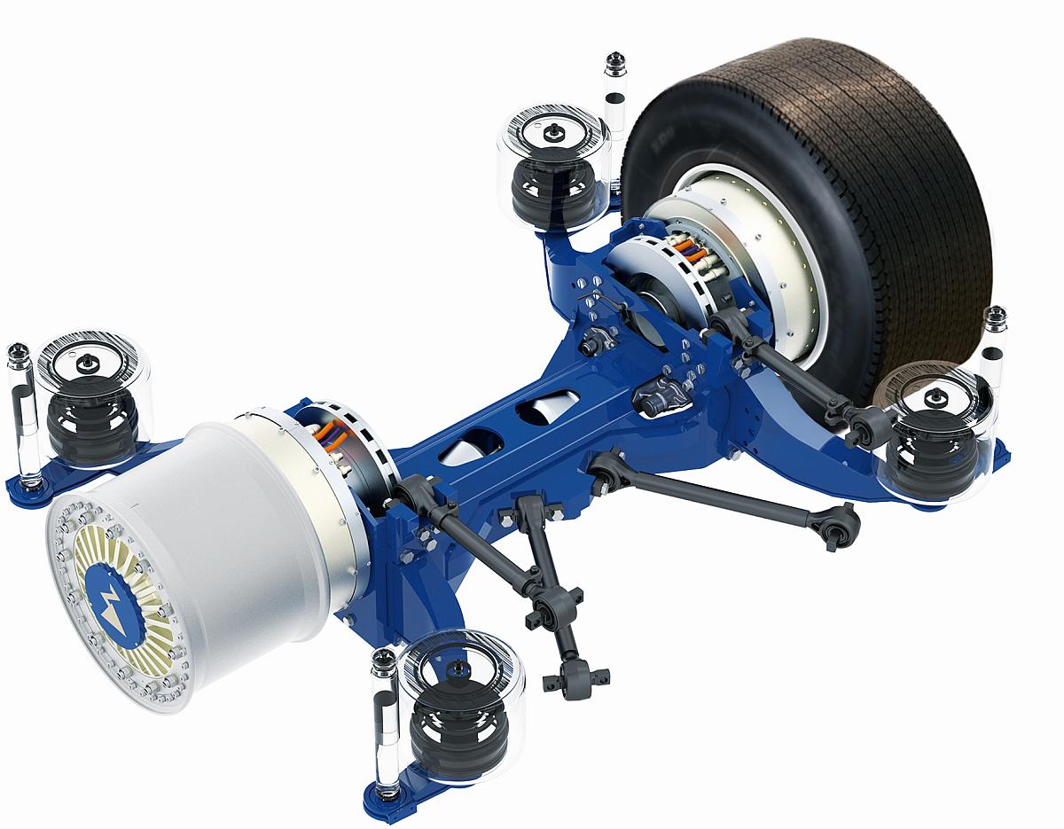 Radnabenantrieb ZAwheel von Ziehl-Abegg.