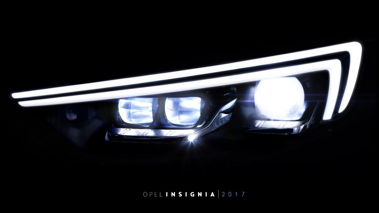 Spotlight: Die neue Generation des IntelliLux LED-Matrix-Scheinwerfers im Opel Insginia 2017