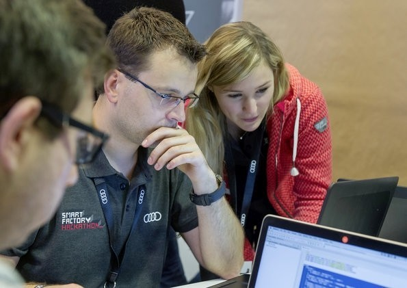 Audi Smart Factory Hackathon 2