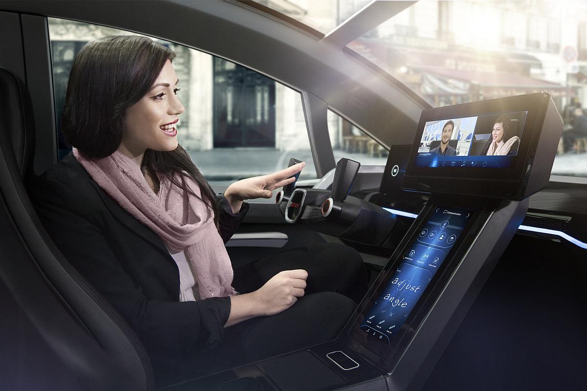 Automatisiertes-Fahren-Bosch HMI