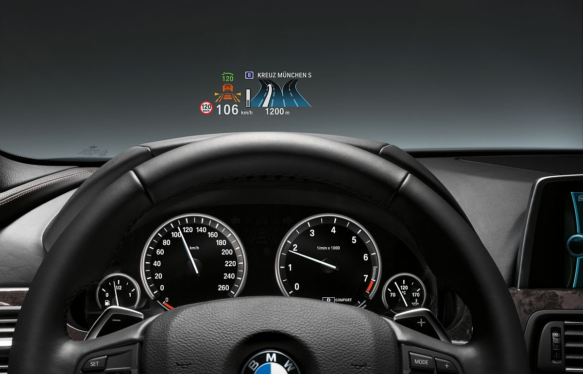 Bmw Head Up Display Automotive Technology