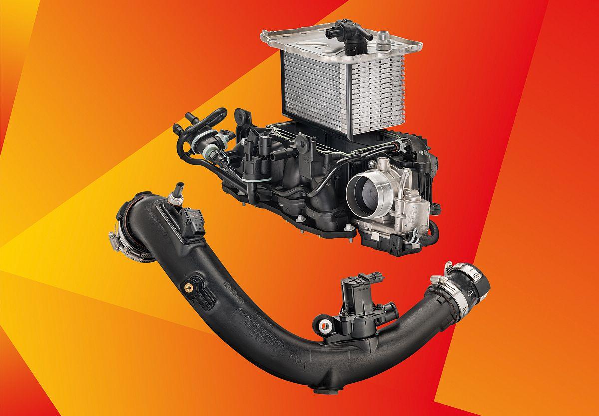 Hitzebeständige Kunststoffe von BASF für Alfa-Giulia-Motorkomponenten