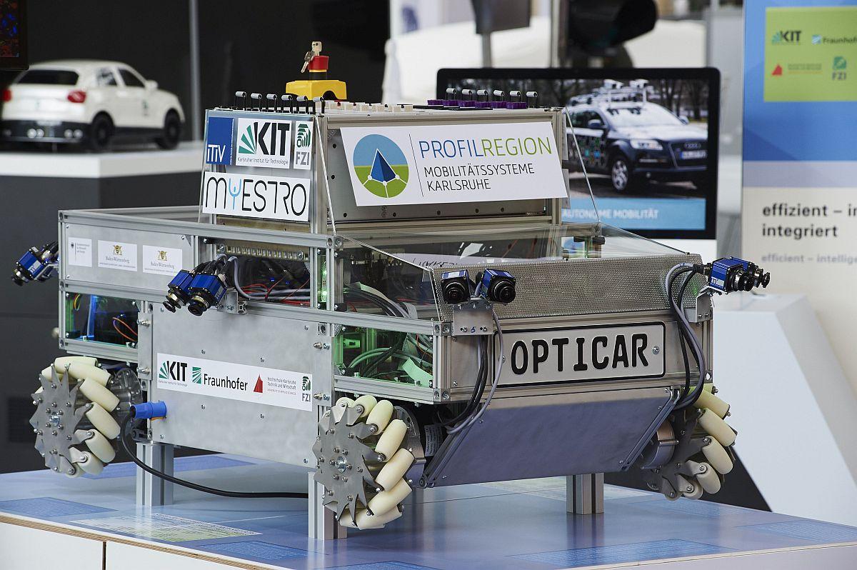 OPTICAR Demonstrator